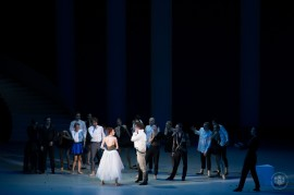 A scene of The Taming of the Shrew @E.Mathon, Prince's Palace