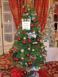"Tree No.10 Monaco Luxury Group ""Return to Childhood"" and under the tree 2 Ferrari Factory tours for 2 people each"