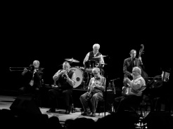 Woody Allen with Eddy Davis New Orleans Jazz Band in Monte-Carlo @CelinaLafuenteDeLavotha
