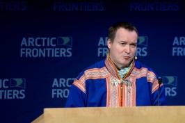 Anders Oskal @Pernille Ingebrigtsen Arctic Frontiers 2015