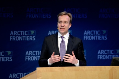 Borge Brende, Minister of Foreign Affairs Norway @Pernille Ingebrigtsen Arctic Frontiers 2015