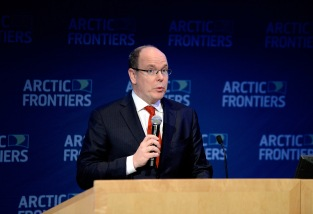 HSH Prince Albert II of Monaco @Penille Ingebrigtsen Arctic Frontiers 2015
