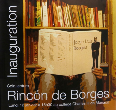 Inauguration poster for Rincon de Borges @CelinaLafuenteDeLavotha