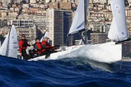 J70 race in bumpy waters @Franck Terlin