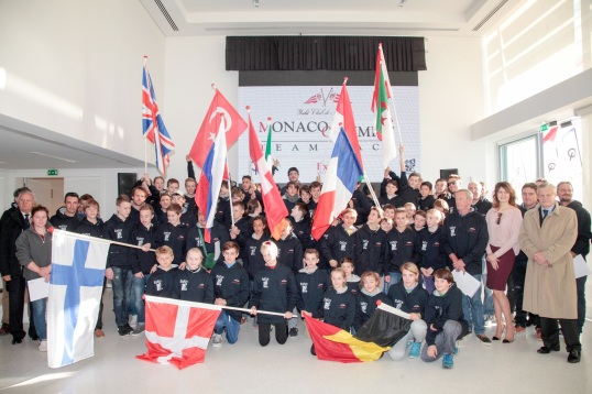 Monaco Optimist Team Race - 64 youngsters from 13 countries @Franck Terlin