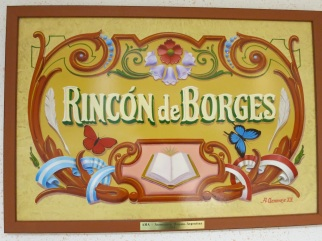 Rincon de Borges sign created by Alfredo Genovese @CelinaLafuenteDeLavotha