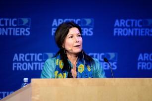 Samantha Smith, WWF @Pernille Ingebrigtsen Arctic Frontiers 2015