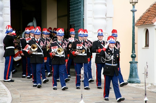 The Band of the Carabinieri of the Prince of Monaco @CelinaLafuenteDeLavotha