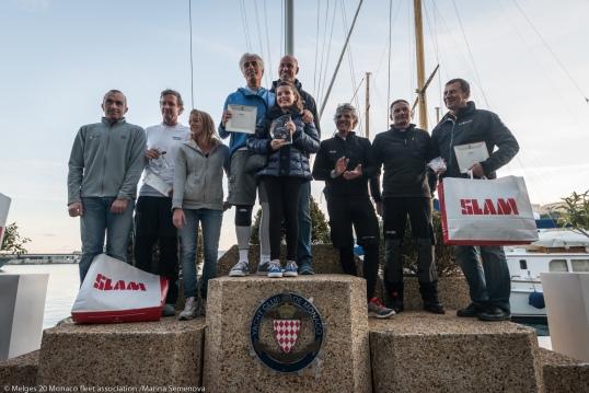Melges 20 Winners' Podium @Marina Asemenova