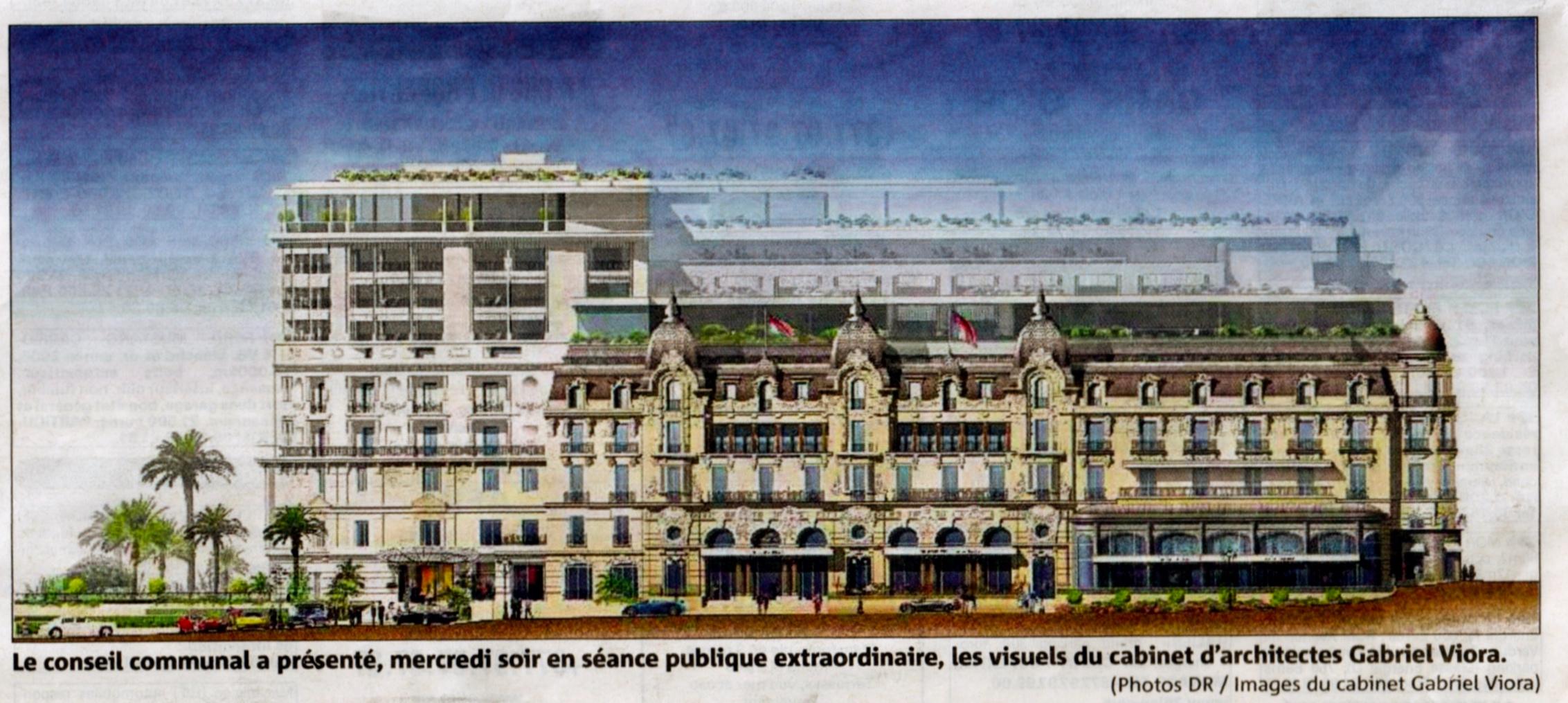Successful auction at legendary hotel de paris in monte for Hotel de paris