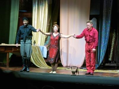 Carsten Wittmosre, Barbara Haveman and Zoran Todorovich saluting the Monegasque public @CelinaLafuenteDeLavotha
