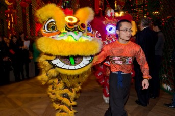 Chinese New Year's characters at the Oceanographic Museum @M. Dagnino