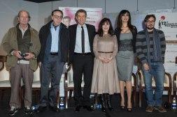 Claude Zidi, Peter Bogdanovich, Ezio Greggio, Yllka Mujo, Maria Grazia Cucinotta and Markus Duffner @ MCFFC