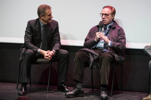 Ezio Gregg and Peter Bogdanovich @MCFFC