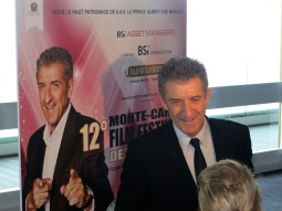 Ezio Greggio founder and president of the Monte-Carlo Film Festival of Comedy @CelinaLafuenteDeLavotha