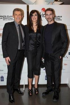 Ezio Greggio, Maria Grazia Cucinotta and Raoul Bova @MCFFC