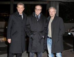 Ezio Greggio, Peter Bogdanovich and Giovanni Veronesi @MCFFC