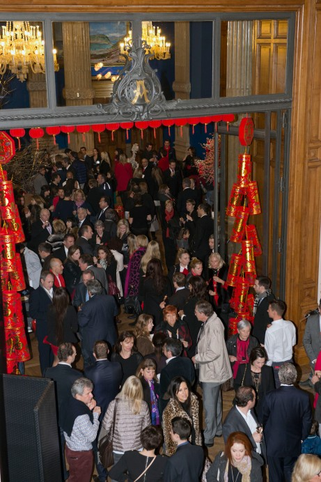 Guests at the Chinese New Year celebration at the Oceanographic Museum @M.Dagnino