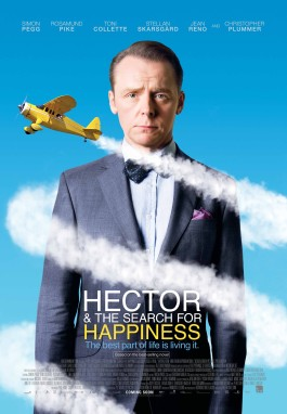 Hector and the Search for Happiness, Germany, Canda, UK, South Africa, 2014