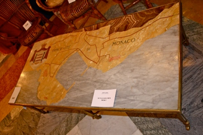 Marble marquetry table from the grand hall of the Hotel de Paris (#849) acquired by the Monegasque State @CelinaLafuenteDeLavotha