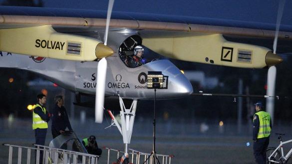 Solar Impulse night flight @Solar Impulse Archives