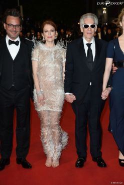 67th Cannes Film Festival. Michel Merkt, Julianne Moore, David Cronenberg