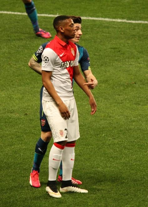 Anthony Martial (Monaco) and Hector Biellerin (Arsenal) @CelinaLafuenteDeLavotha
