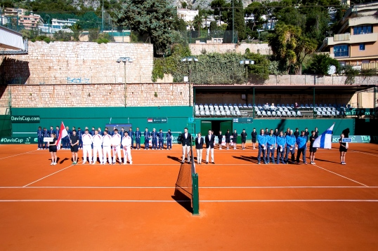 Davis Cup official opening ceremony in Monaco @Erika Tanaka