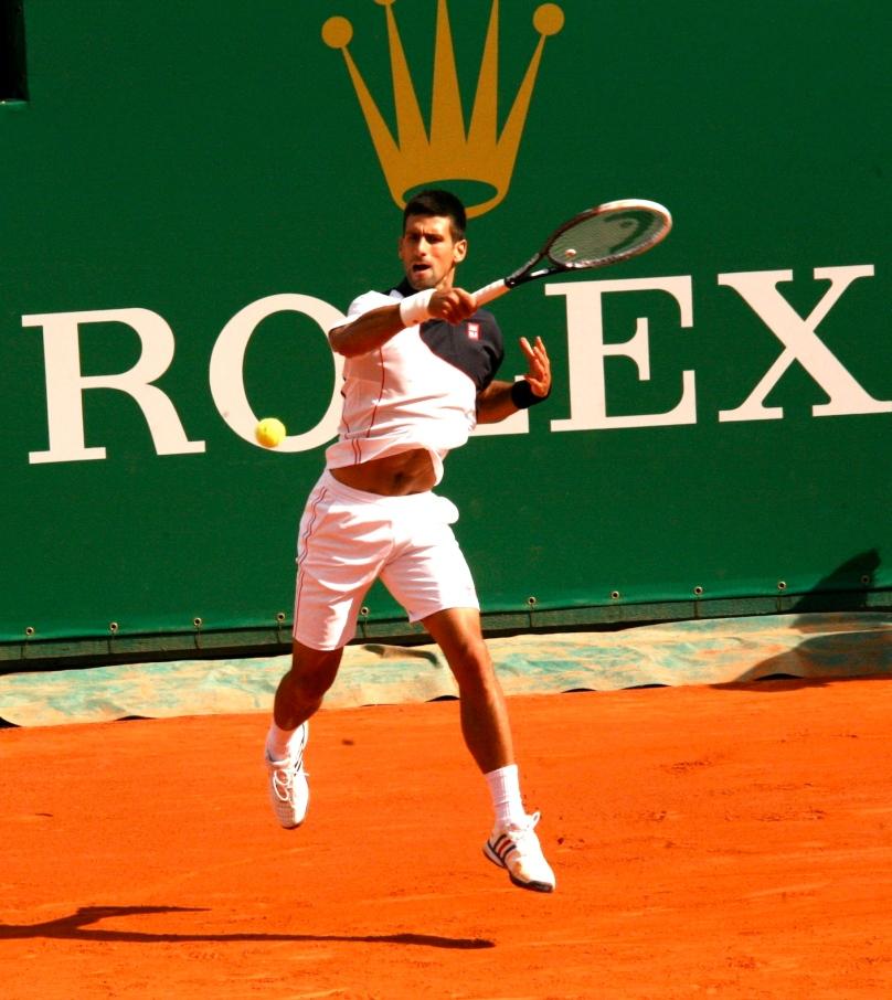 Novak Djokovic (No.1) at Monte-Carlo Rolex Masters 2014 @CelinaLafuenteDeLavotha