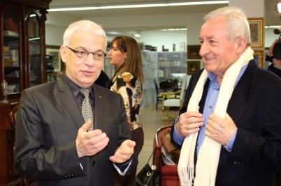 Jean-Charles Curau and Daniel Augendre @CelinaLafuenteDeLavotha