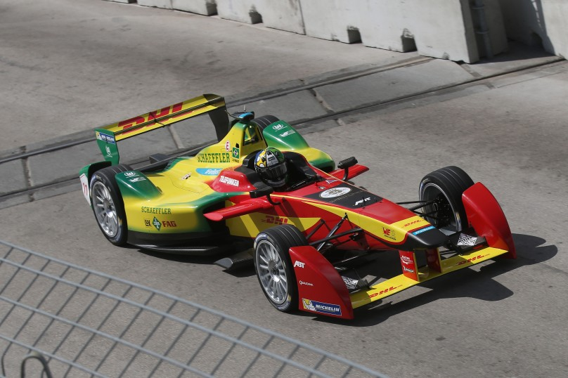 Lucas di Grassi in Miami @P1 Media Relations