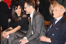Maria Grazia Cucinotta with Lee Marshall and Philippe Leroy @CelinaLafuenteDeLavotha
