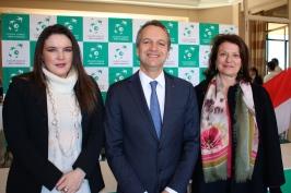 Melanie-Antoinette de Massy, Georges Marson and Isabelle Bonnal @CeilnaLafuenteDeLavotha