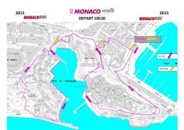 Pink Ribbon Monaco Walk track