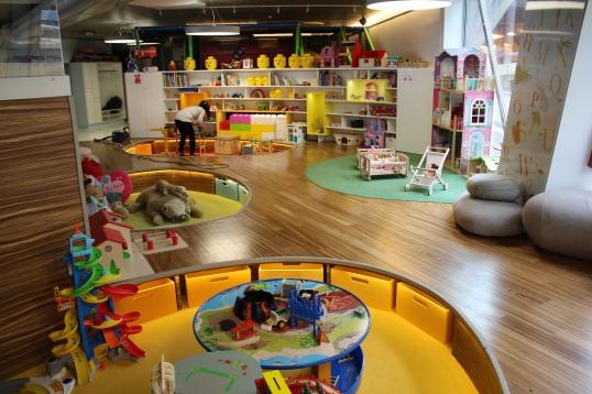 A view of the playroom at Munchkins Club of Monaco @CelinaLafuenteDeLavotha
