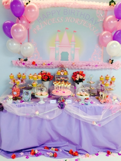 Princess party theme at Munchkins Club of Monaco @MCM