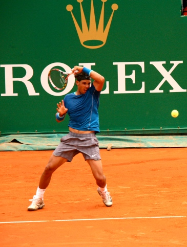 Rafael Nadal (No.3) at Monte-Carlo Rolex Masters 2014 @CelinaLafuenteDeLavotha