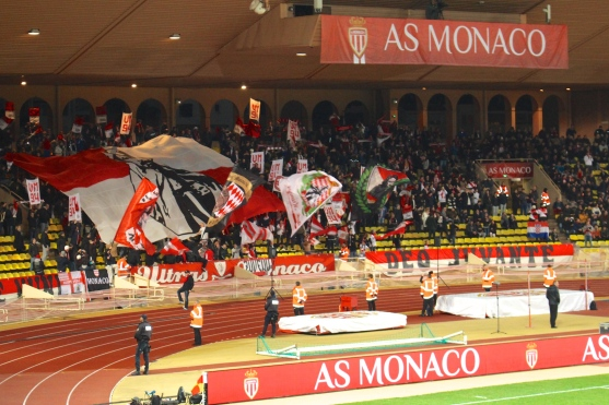 The loyal Monegasque fans gave a warm welcome to their team @CelinaLafuenteDeLavotha