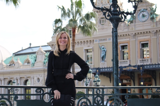 Serena Autieri at the Hotel de Paris in MC @CelinaLafuenteDeLavotha