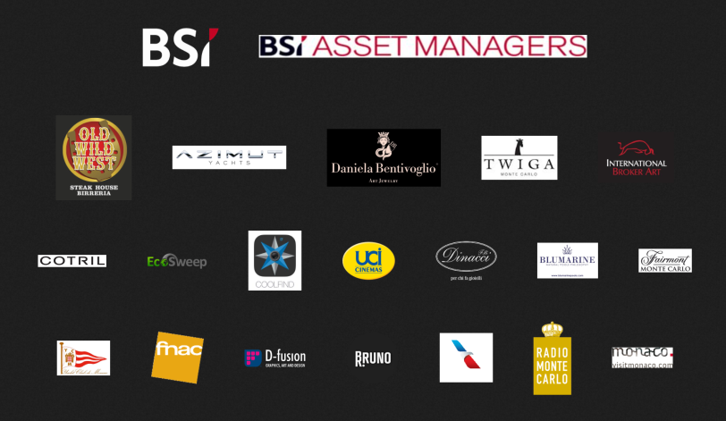Sponsors of the Monte-Carlo Film Festival of Comedy 2015
