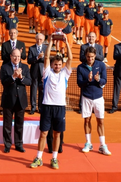 Stan Wawrink winner of the Monte-Carlo Rolex Masters Singles in 2014 @CelinaLafuenteDeLavotha