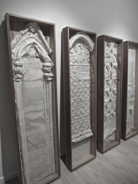 Steles of the Cathedrale Saint Andre in Bordeaux, 1973 by Anne and Patrick Poirier @CelnaLafuenteDeLavotha