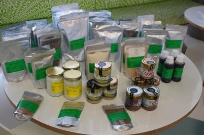 Super-foods displayed at Naomi's workshop (1) @CelinaLafuenteDeLavotha