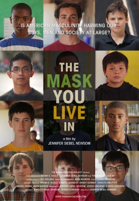 The Mask You Live In - Film by Jennifer Siebel Newsom -  Poster
