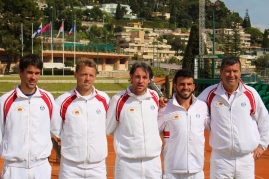 Thomas Oger, Benjamin Balleret, Guillaume Couillard, Romain Arneodo and Captain Christophe Boggetti @CelinaLafuenteDeLavotha