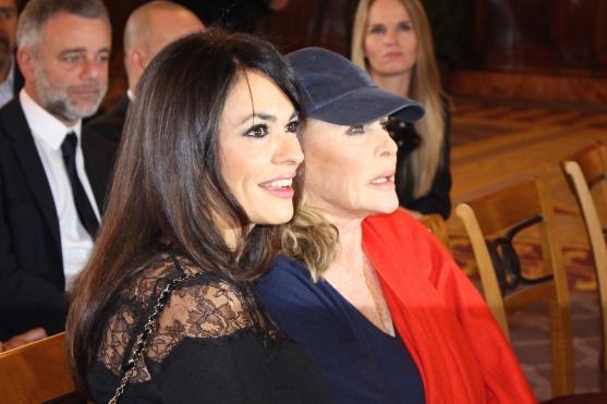 Maria Grazia Cucinotta and Ursula Andress @CelinaLafuenteDeLavotha