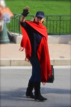 Ursula Andress in the Casino Square in Monte-Carlo @CelinaLafuenteDeLavotha