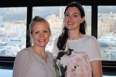 Vibeke Brask-Thomsen, founder and Director of GenderHopes and Belinda Ogden, coordinator@CelinaLafuenteDeLavotha