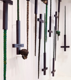 Grave tomb swords skulls and crosses, 2000 Tail collection @NMNM Andrea Rossetti 2015