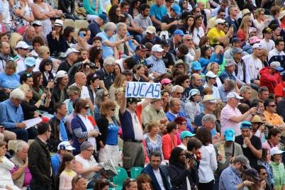 A fan of Lucas Pouille (France) @CelinaLafuenteDelavotha